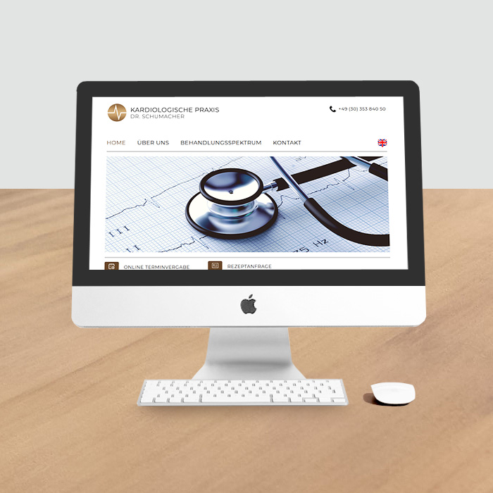 Website auf WordPress-Basis