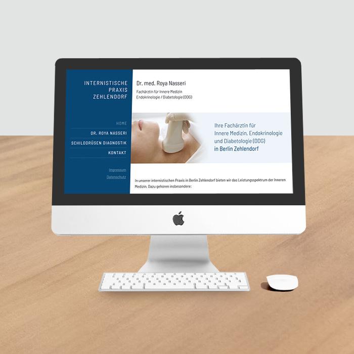 Website auf HTML-Basis