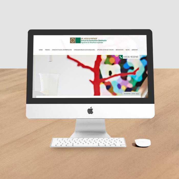 Website auf WordPress-Basis